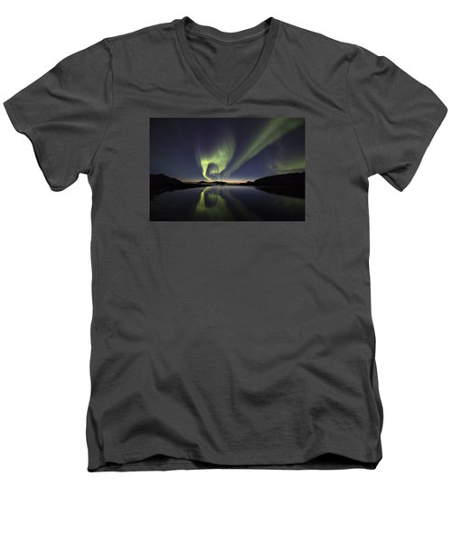 After Sunset II Men's V-Neck T-Shirt
