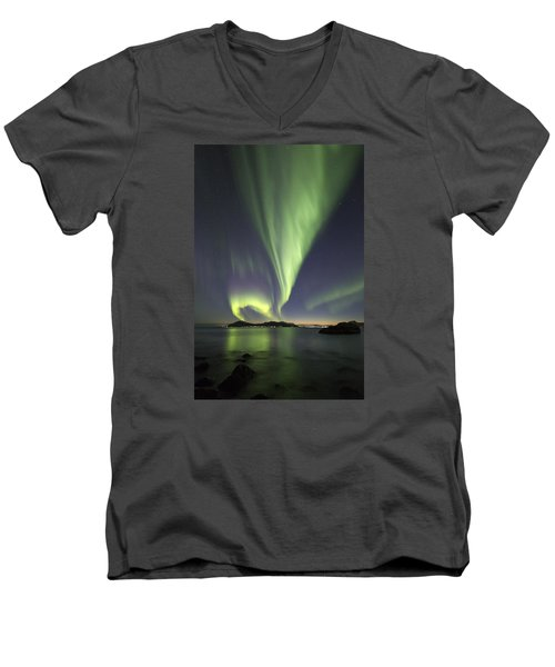 After Sunset IIi Men's V-Neck T-Shirt