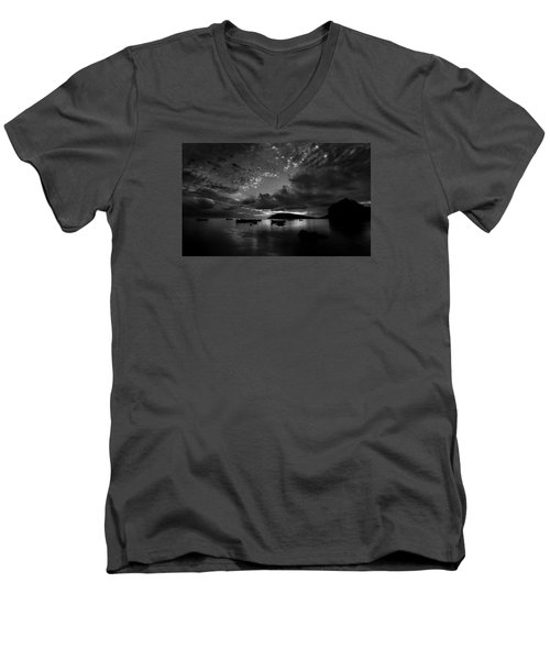 After The Day The Night Shall Come Men's V-Neck T-Shirt