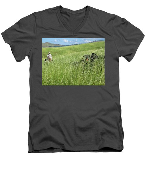 After The Drought Men's V-Neck T-Shirt