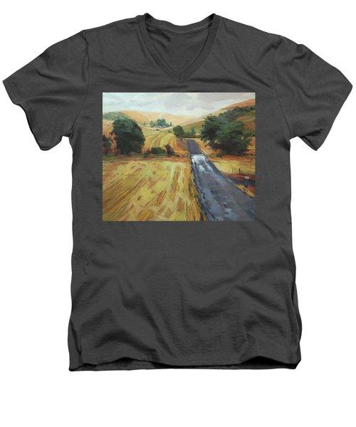 After The Harvest Rain Men's V-Neck T-Shirt