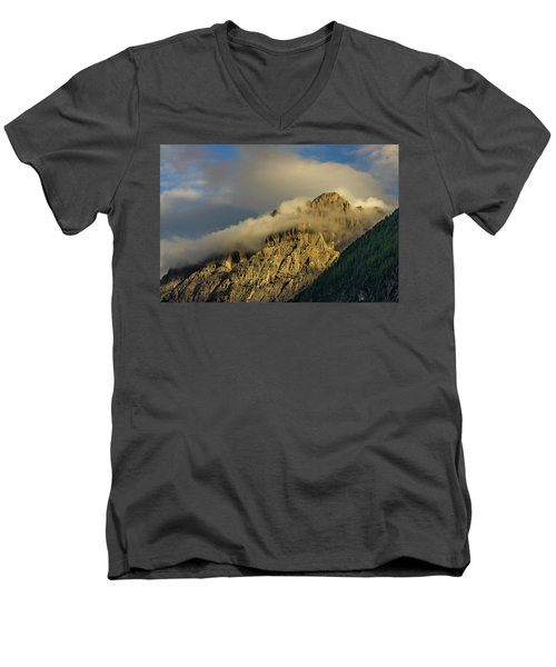 After The Rain In The Austrian Alps. Men's V-Neck T-Shirt