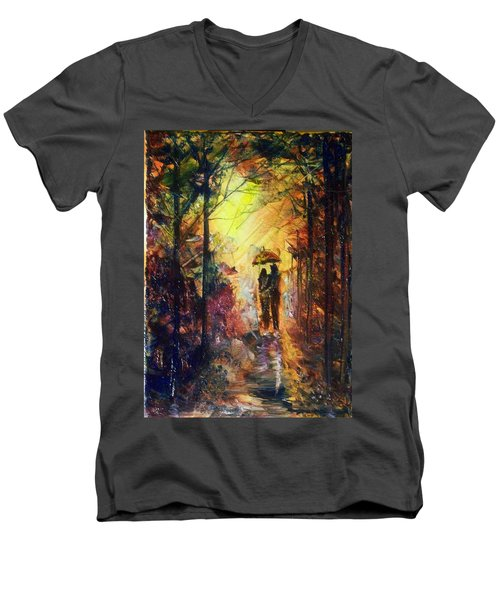 After The Rain Men's V-Neck T-Shirt