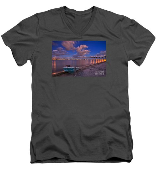 After The Rain Men's V-Neck T-Shirt by Sam Antonio Photography