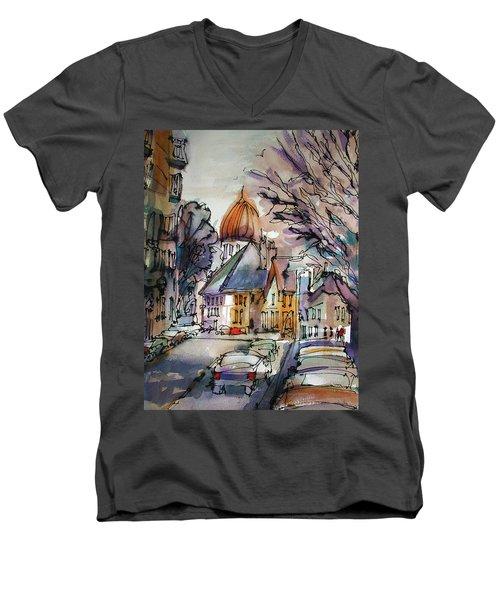 Afternoon Delight Men's V-Neck T-Shirt
