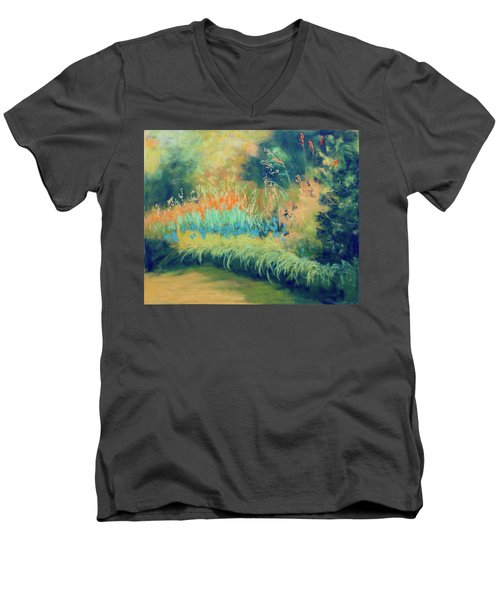 Afternoon Delight Men's V-Neck T-Shirt by Lee Beuther