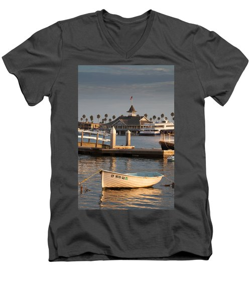 Afternoon Light Balboa Island Men's V-Neck T-Shirt