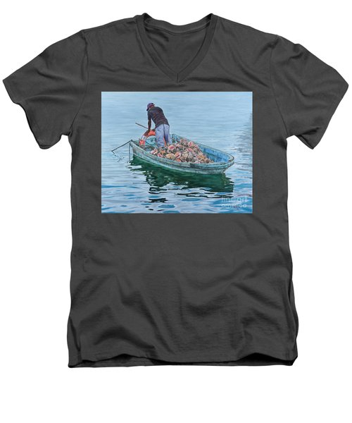 Afternoon Repose Men's V-Neck T-Shirt