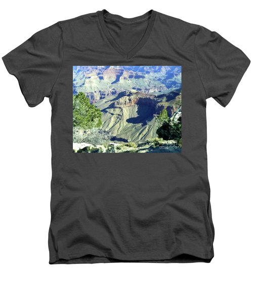 Afternoon View Grand Canyon Men's V-Neck T-Shirt
