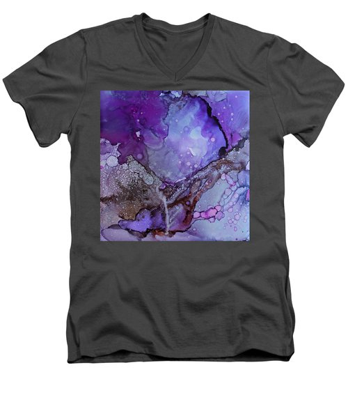 Agate Men's V-Neck T-Shirt