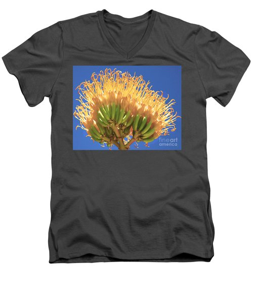 Agave Bloom Men's V-Neck T-Shirt