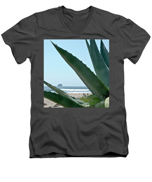 Agave Ocean Sky Men's V-Neck T-Shirt