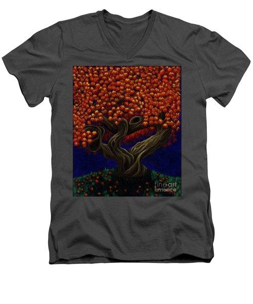 Aged Autumn Men's V-Neck T-Shirt