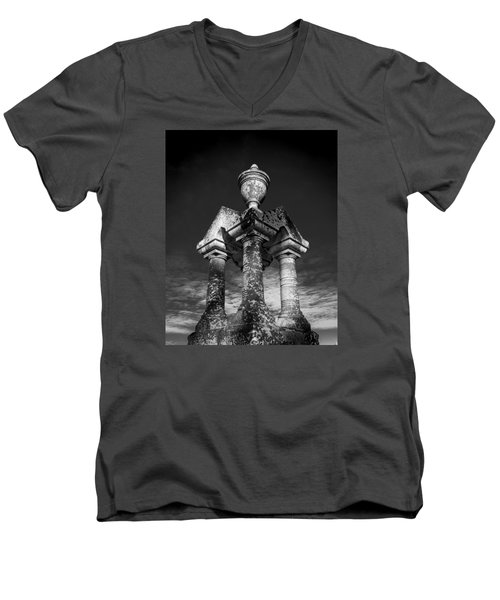 Aged Stone And Sky Men's V-Neck T-Shirt