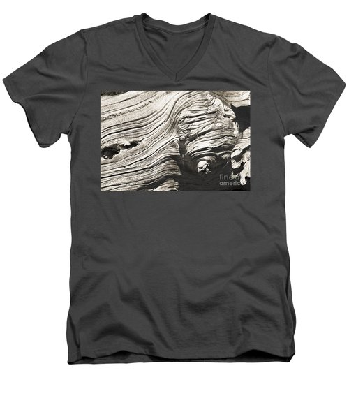 Aging Of Time Men's V-Neck T-Shirt