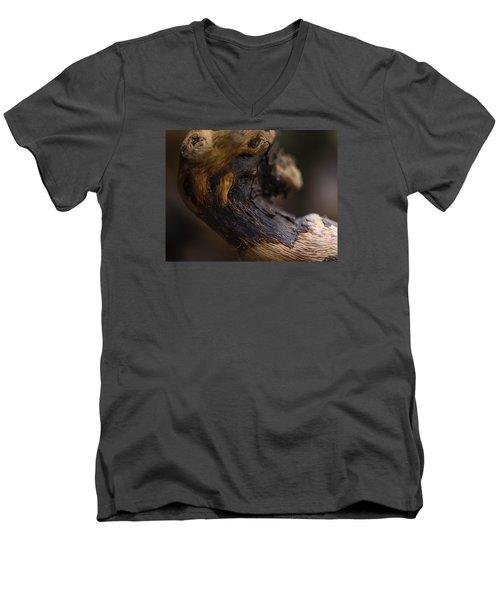 Ageing Men's V-Neck T-Shirt