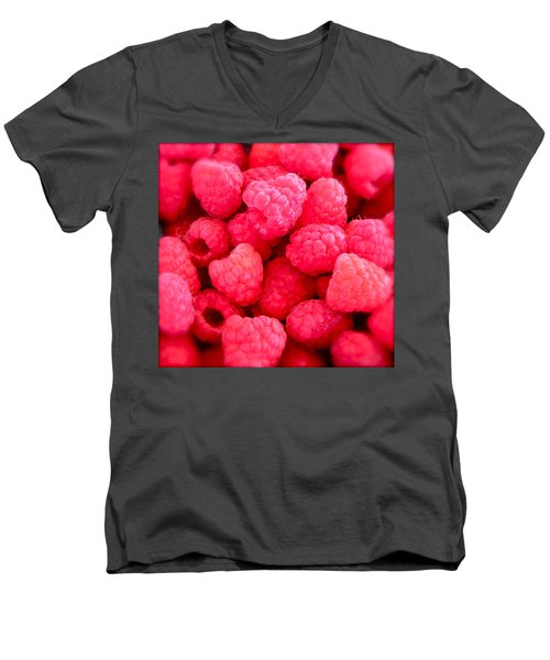 Agenda For Today ... Raspberry Jam Men's V-Neck T-Shirt