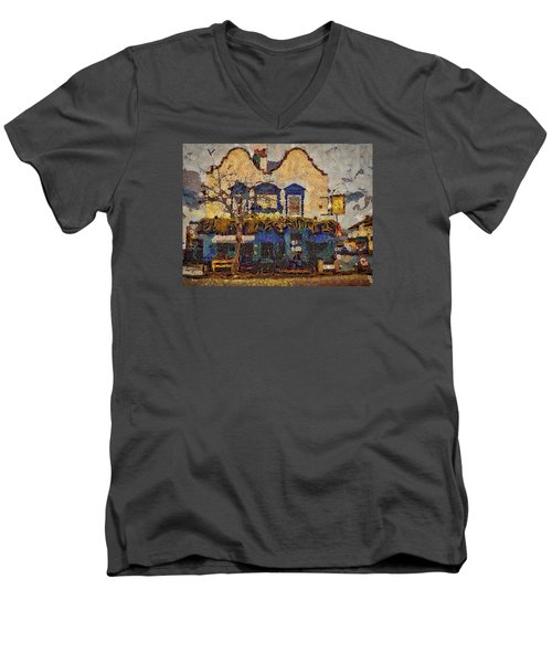 Ahh Bistro Men's V-Neck T-Shirt