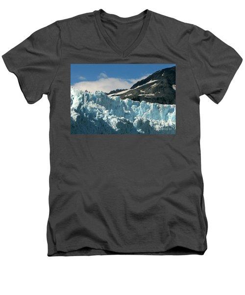 Aialik Glacier Men's V-Neck T-Shirt