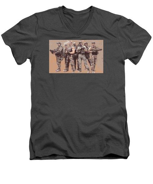 Ain't Got Time To Bleed Men's V-Neck T-Shirt