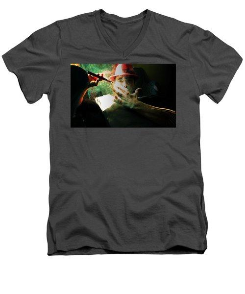 Aint Men's V-Neck T-Shirt