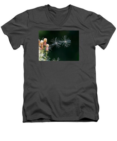 Men's V-Neck T-Shirt featuring the photograph Air Dance by Leif Sohlman