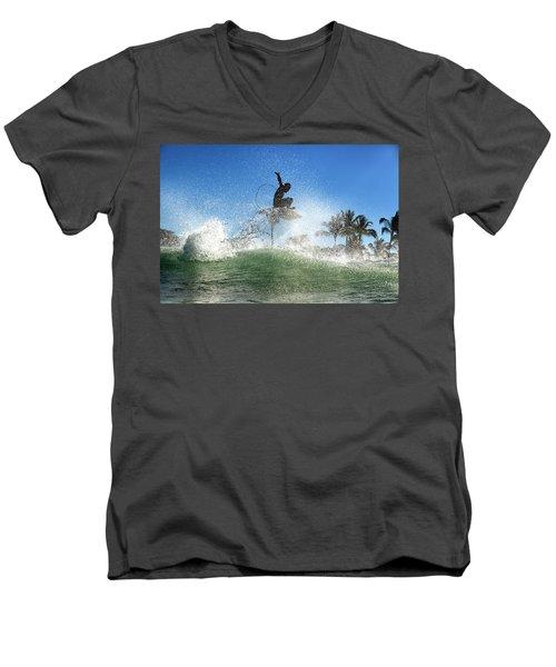 Air Show Men's V-Neck T-Shirt
