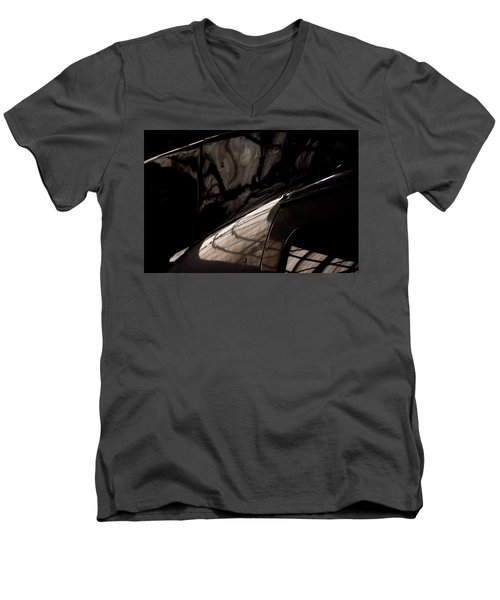 Men's V-Neck T-Shirt featuring the photograph Airbus by Paul Job