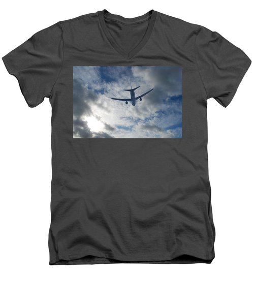Airliner 01 Men's V-Neck T-Shirt