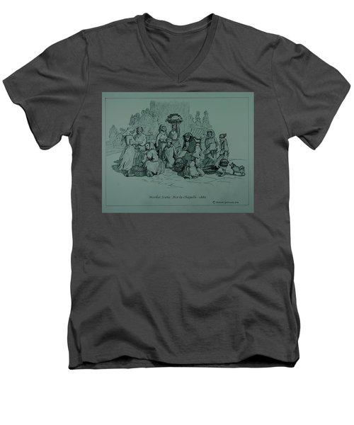 Aix-en-chapelle Men's V-Neck T-Shirt