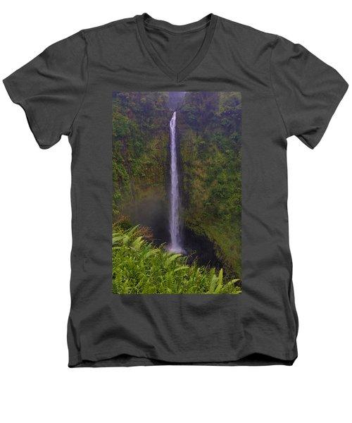 Akaka Falls Men's V-Neck T-Shirt