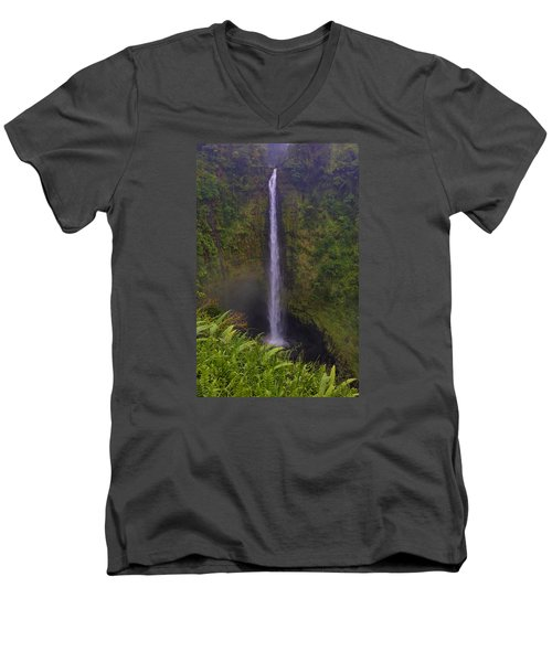 Akaka Falls Men's V-Neck T-Shirt