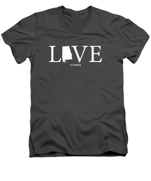 Al Love Men's V-Neck T-Shirt by Nancy Ingersoll