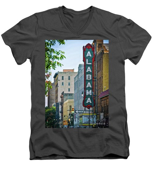 Alabama Theatre Men's V-Neck T-Shirt