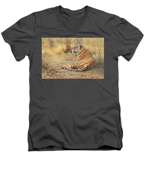 Alarm Call Men's V-Neck T-Shirt