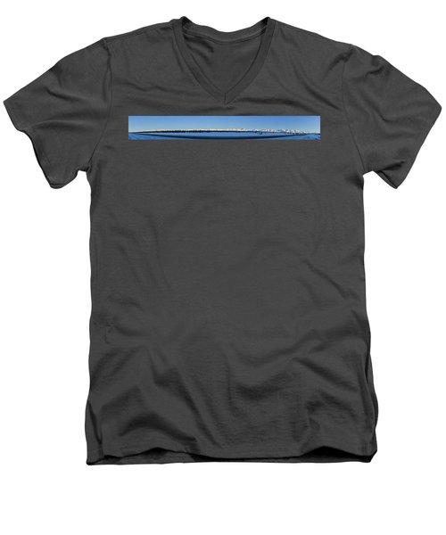 Alaska Highway Panorama Men's V-Neck T-Shirt