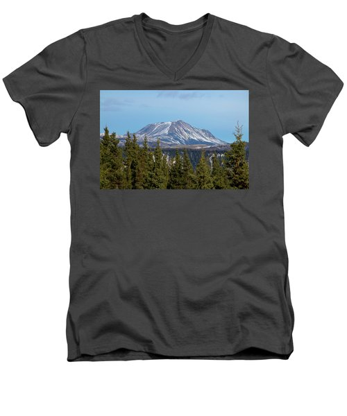 Alaska Range Men's V-Neck T-Shirt