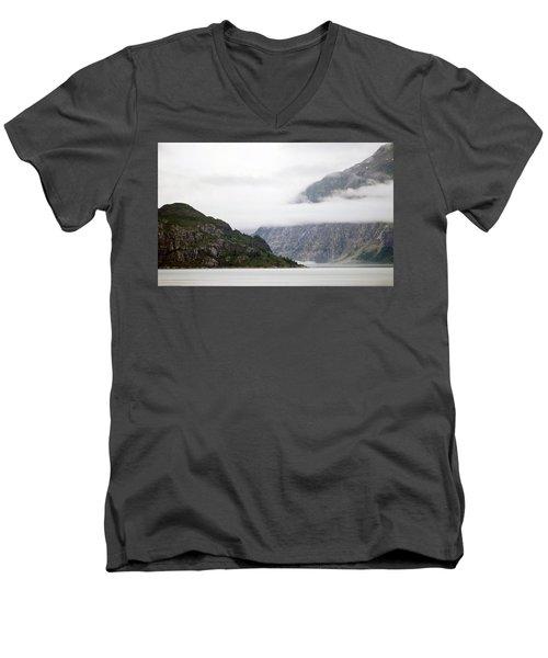 Alaskan Coast  Men's V-Neck T-Shirt