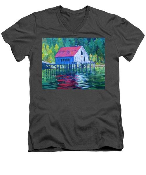 Alaskan Gear Shed Men's V-Neck T-Shirt
