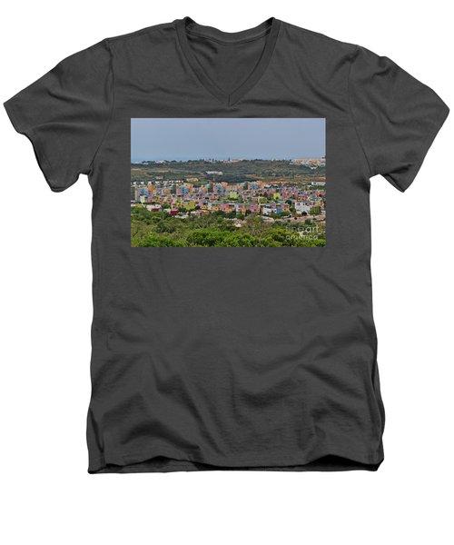 Albufeira Marina View Men's V-Neck T-Shirt