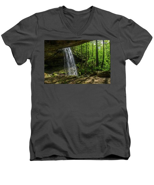 Alcorn Falls Men's V-Neck T-Shirt