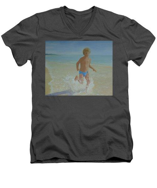 Alex On The Beach Men's V-Neck T-Shirt