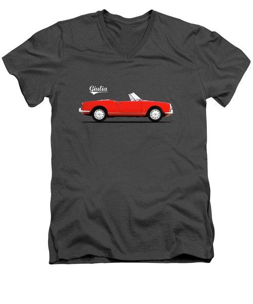 Alfa Giulia Spider 1964 Men's V-Neck T-Shirt
