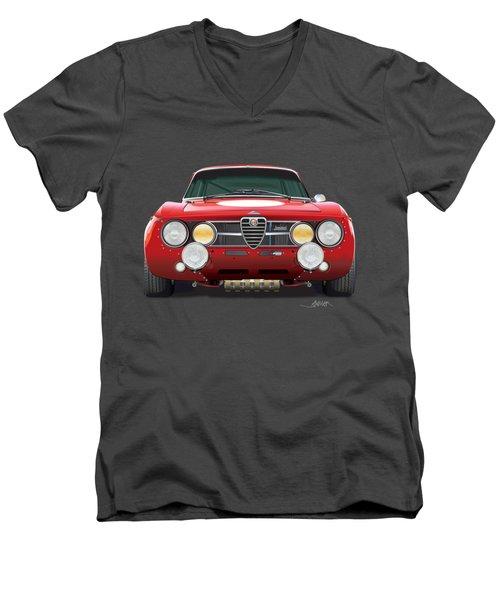 alfa romeo GTA for t-shirts Men's V-Neck T-Shirt