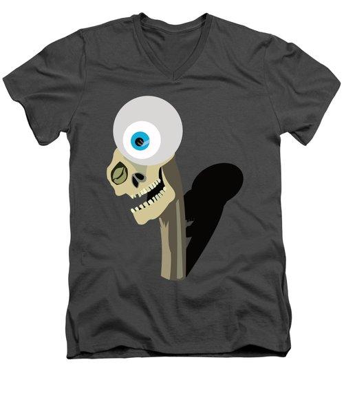 Alfred Kubin Men's V-Neck T-Shirt by Michael Jordan