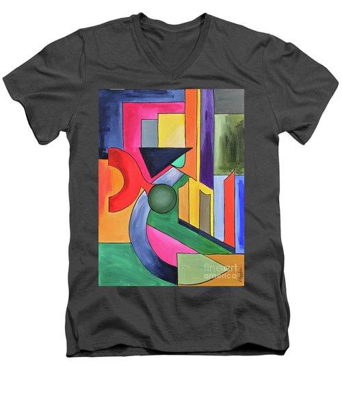 Alhamdu-lillah-3 Men's V-Neck T-Shirt