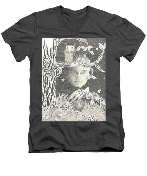 Alice Syndrome Men's V-Neck T-Shirt