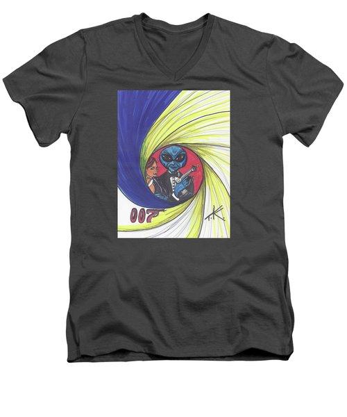 alien Bond Men's V-Neck T-Shirt