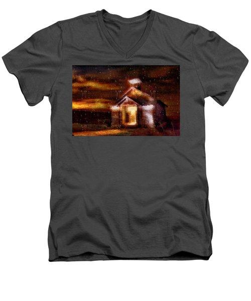 Alien Home Men's V-Neck T-Shirt
