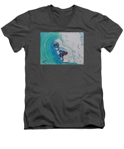 Alien Tube Men's V-Neck T-Shirt